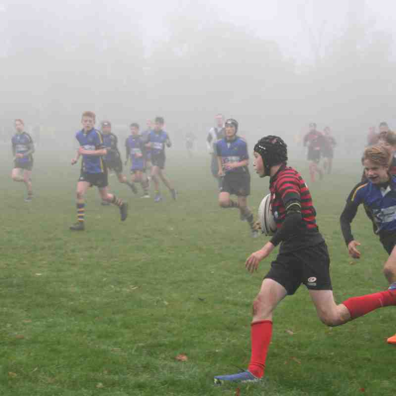U14 Crusaders v Hertford (home) 19-40 - 20161030