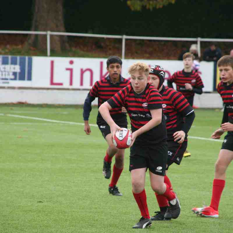 U14 Crusaders v Roslyn Park (away) 15-12 - 20161106