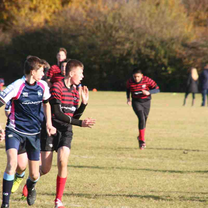 U14 Crusaders/Infidels v Bedford (away) 27-10 - 20161113