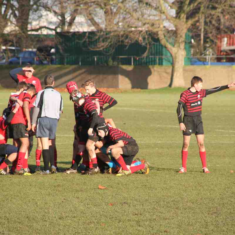 U14 Crusaders v London Welsh (away) 31-0 - 20161211