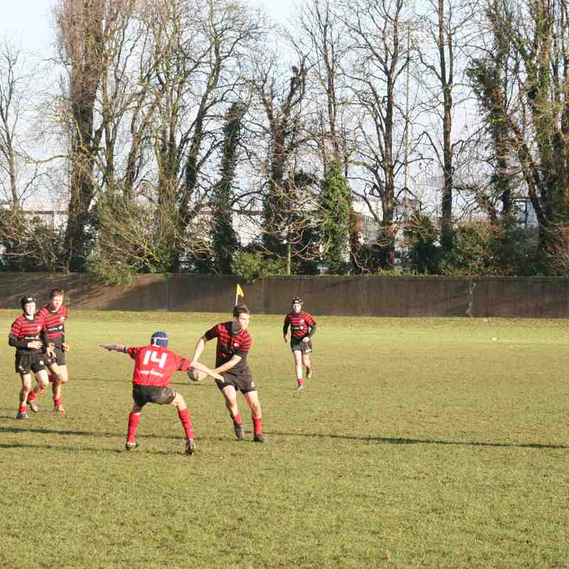 U14 Crusaders v London Welsh (away) 31-0 - 20161211
