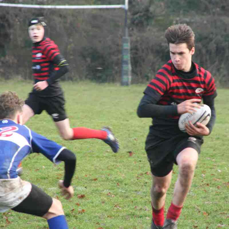 U14 Crusaders v Bishop Stortford (home) 19-21 - 20170108