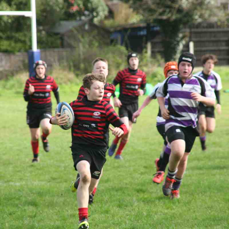 U14 Crusaders v Woodford (away) 62-0 - 20170402