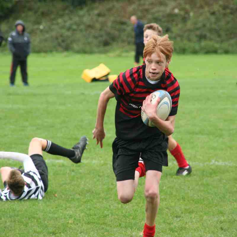 U15 Crusaders v Chinnor (home) 45:0 - 20171001