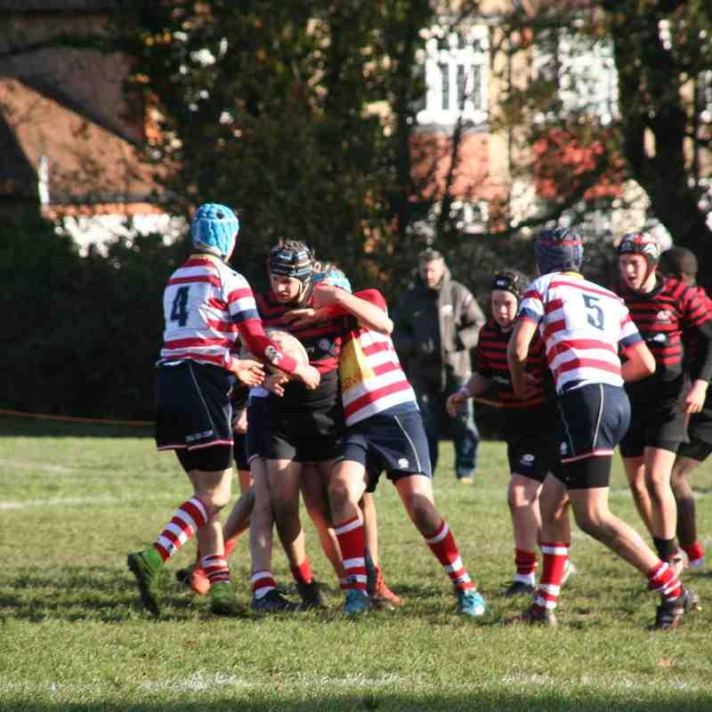 U15 Crusaders v Roslyn Park (home) 28:14 - 20171112