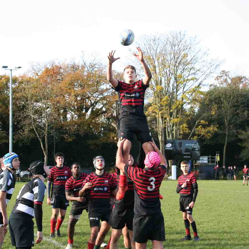 U15 Crusaders v Thurrock(home) 34:31 - 20171119