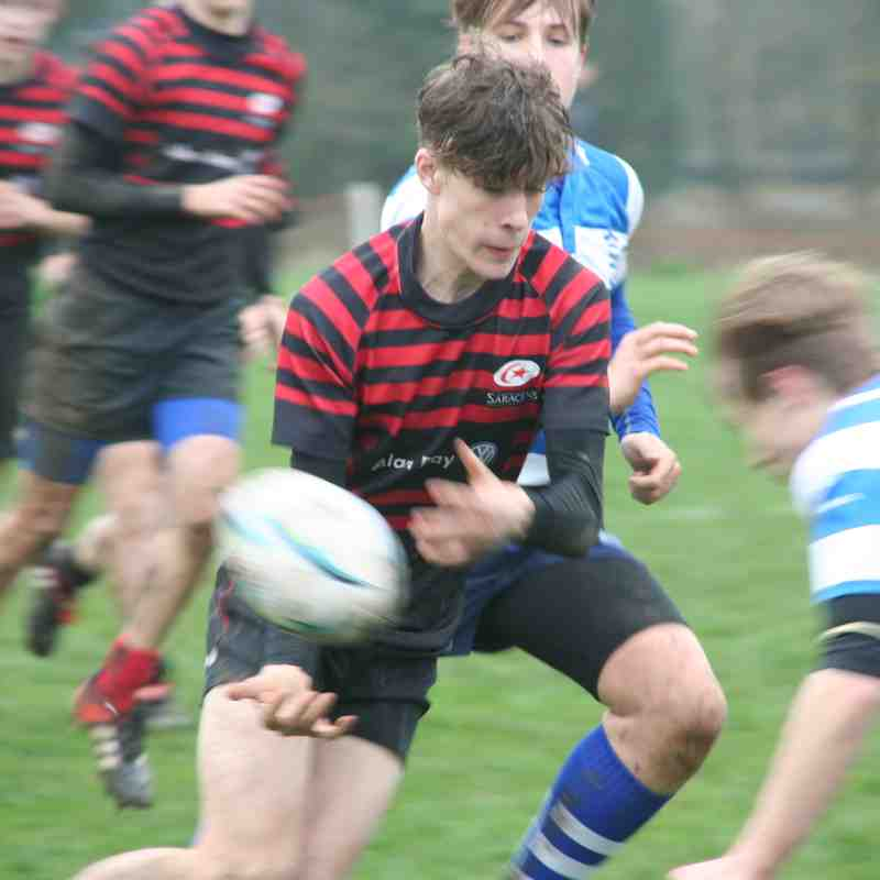 U15 Crusaders v Wanstead (home) 24:10 - 080418