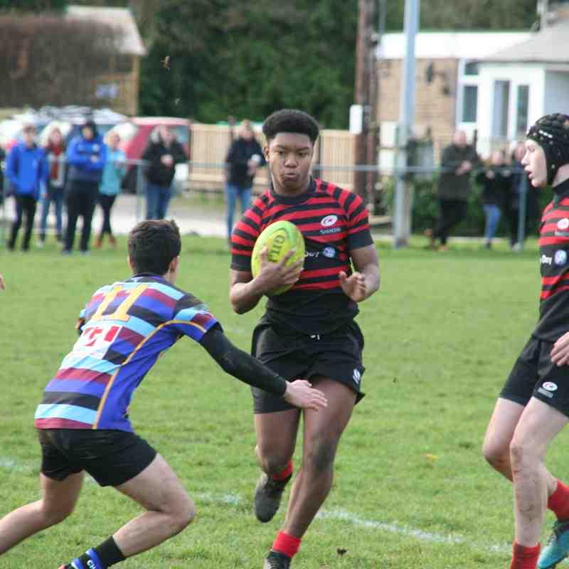 U16 Chingcroft v Crusaders (away) 15:43 - 091218