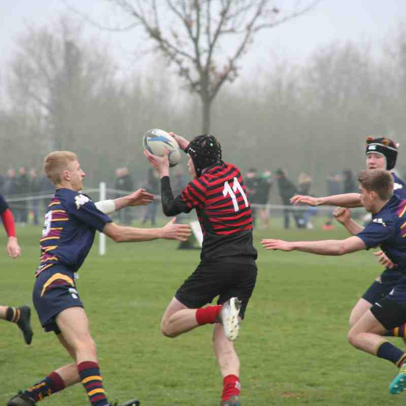 U16 Old Albanians v Crusaders (away) 13:7 - 070419