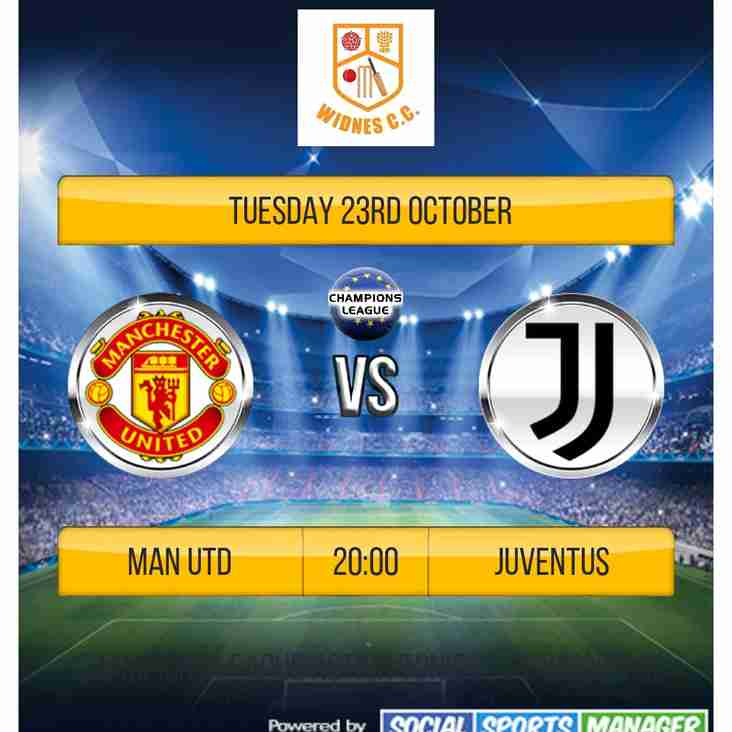 Champions League tonight