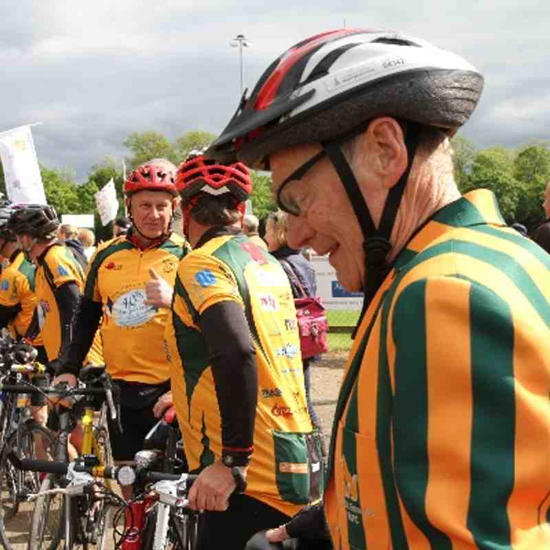 Memorial Cycle Ride Homecoming!