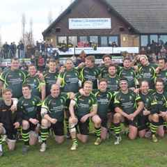 Bury secure 7th place in Nat 2 despite a spirited 41-29 defeat at high flying Bishops Stortford.