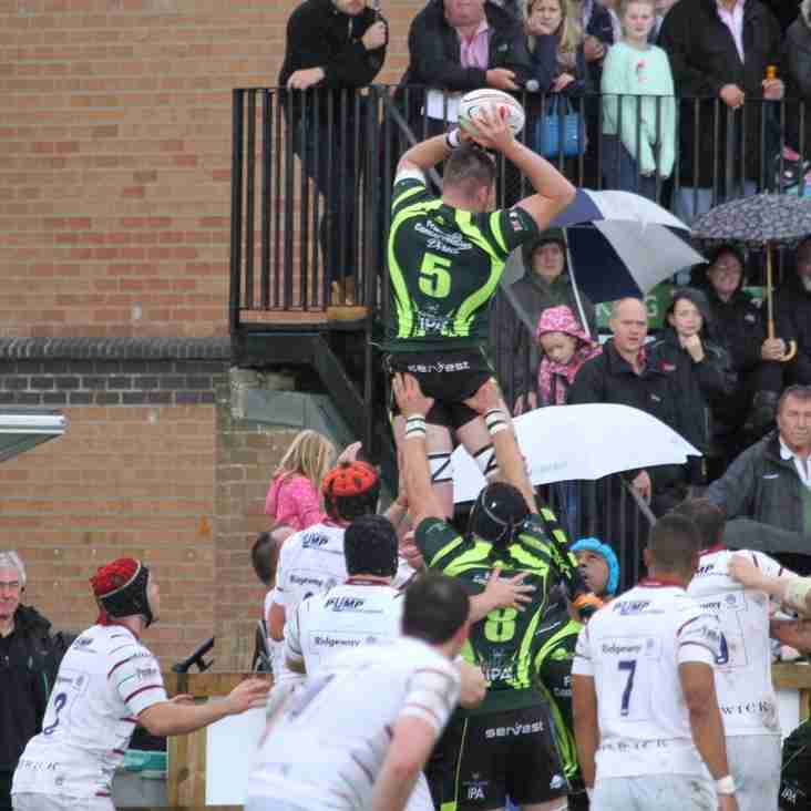 Bury travel to take on London Irish in a crunch mid table encounter!