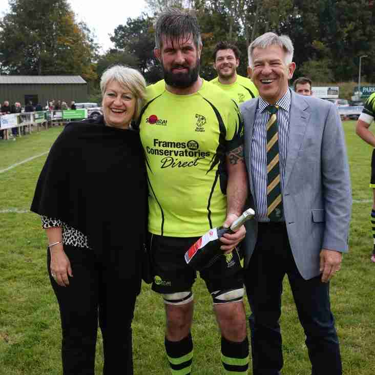 New Player Ben Turner scoops Dragon Micro's Man of the Match