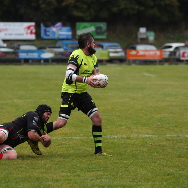 Redruth withstood a valiant Bury second half fight back to deservedly take the spoils.