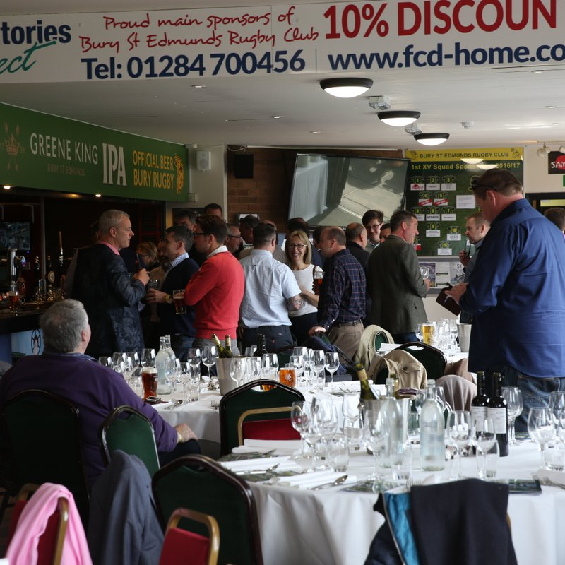 Bookings now open for Pre Match Lunches 2017-2018 Season
