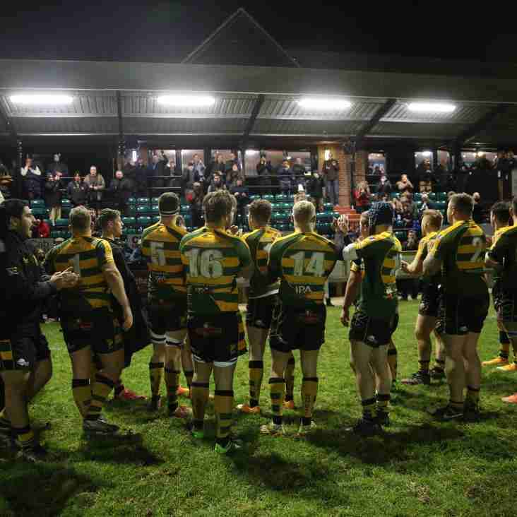 Bury secure a historic first  ever win over  Redruth 27-14.
