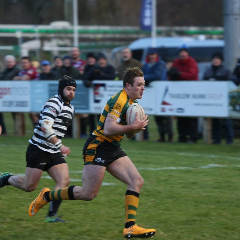 Bury score 5 but go down 45-27 to 2nd place Cinderford....The Wolfpack have scored 11 tries in the last 2  matches.