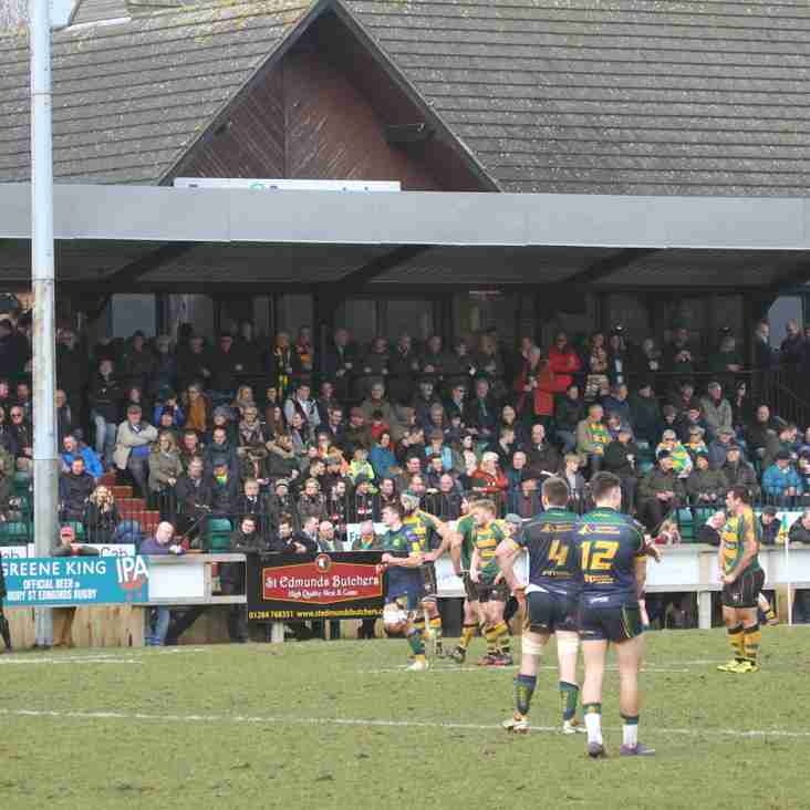 Come down early and fill our newly sponsored Grandstand !  Bury v Clifton 3pm KO.