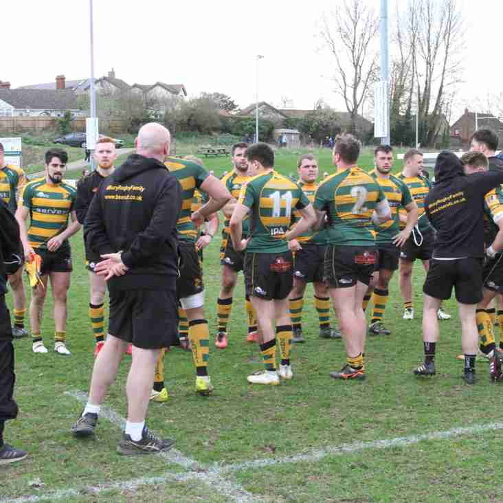 A late try denies the Wolfpack a famous win at 2nd place Chinnor. 28-27..Report below