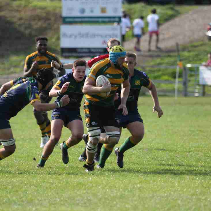 Bury do the Double over Old Albanians.  A 27-39 win at OA's yield 5 points for the Wolfpack.