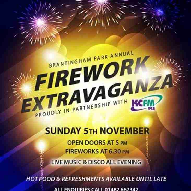 Firework Display - November 5th