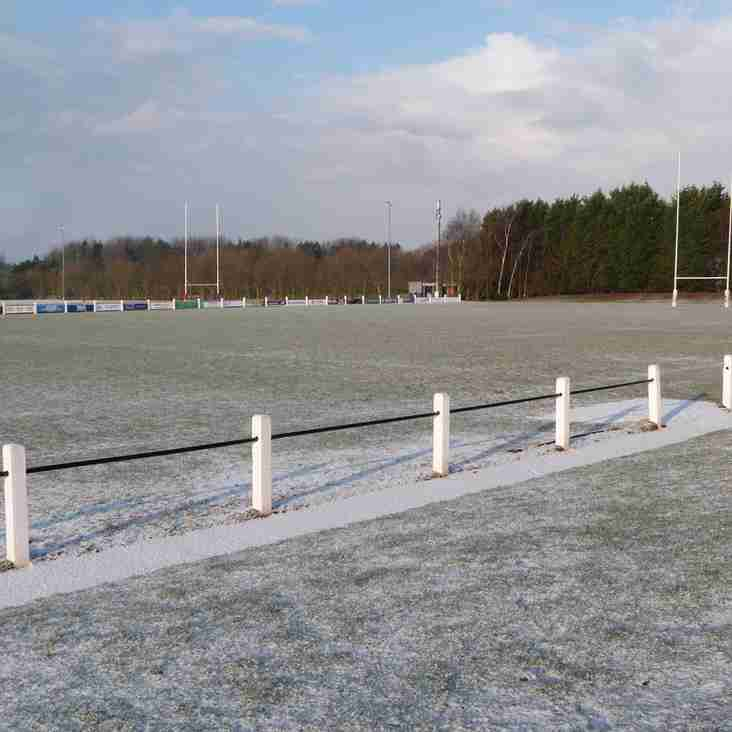 Hull Ionians v South Leicester Postponed + Sunday MJ cancelled