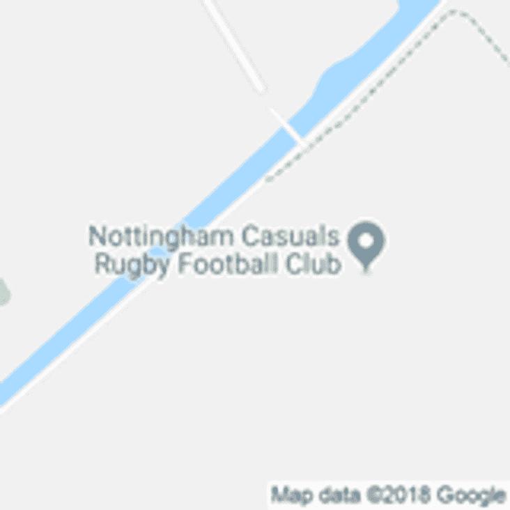 Bingham minis away at Nottingam Casuals (25/11/18)