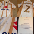 George Williams Signed Shirt & Day Out To Parliament Up For Auction At Presentation Evening