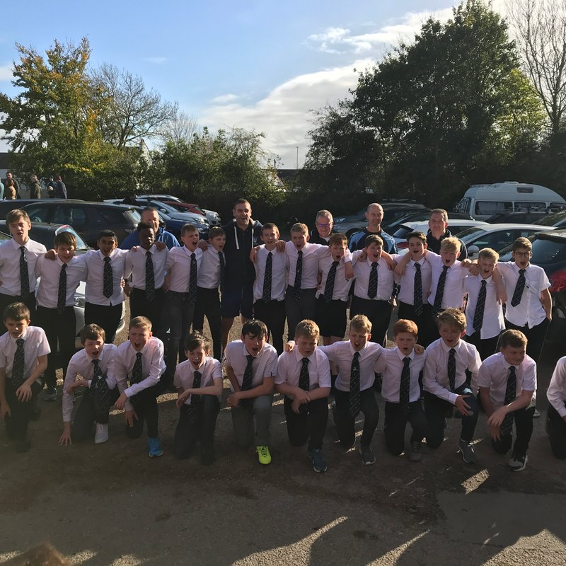 Under 14's (Year 9) beat South Leicester
