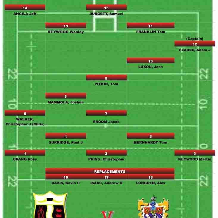 Cullompton RFC v Torquay Athletic RFC