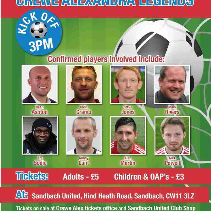 Wendyball! Sandbach United vs Crewe Alex Charity Football Game