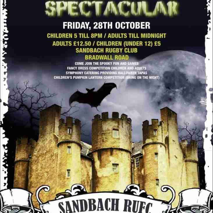 Halloween Spectacular Friday 28th October from 5pm to midnight