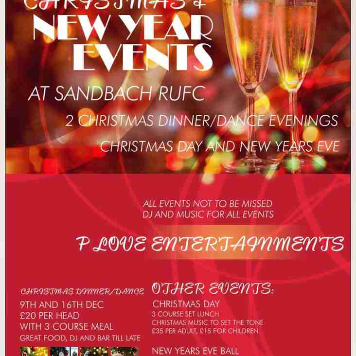 Christmas and New Year's Eve at the Club