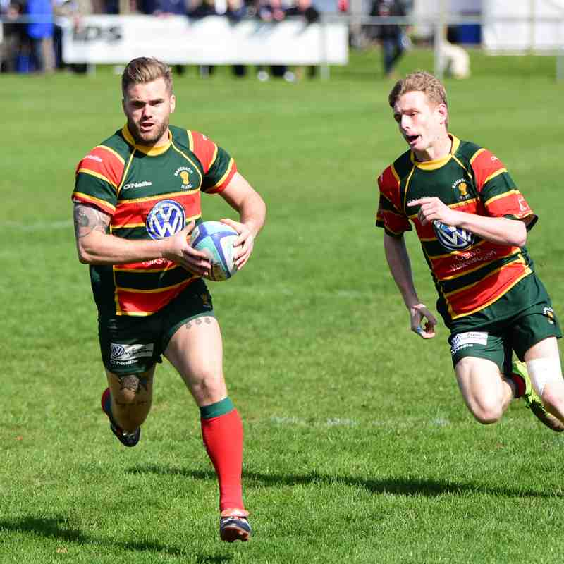 April 2017 1XV Cheshire Cup Final v Caldy