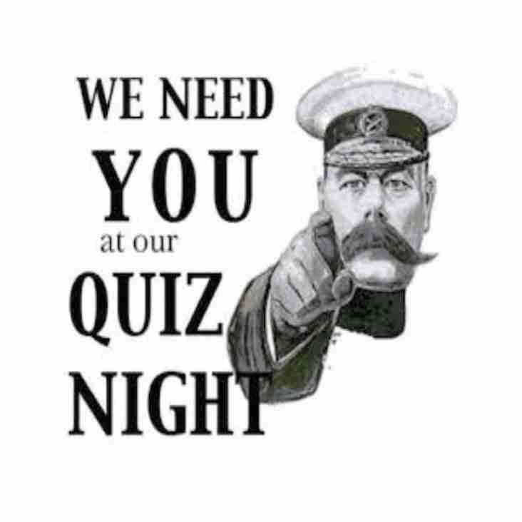 Quiz night reminder