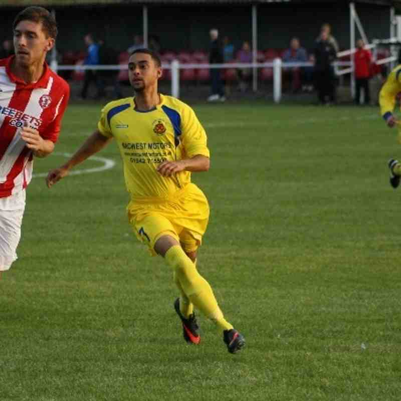 Ashton Athletic v St Helens Town FA Cup Replay 20/8/13