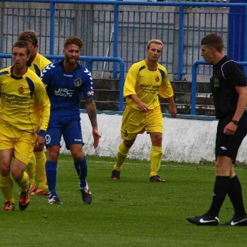 Curzon Ashton v Ashton Athletic FA Cup 31/8/13
