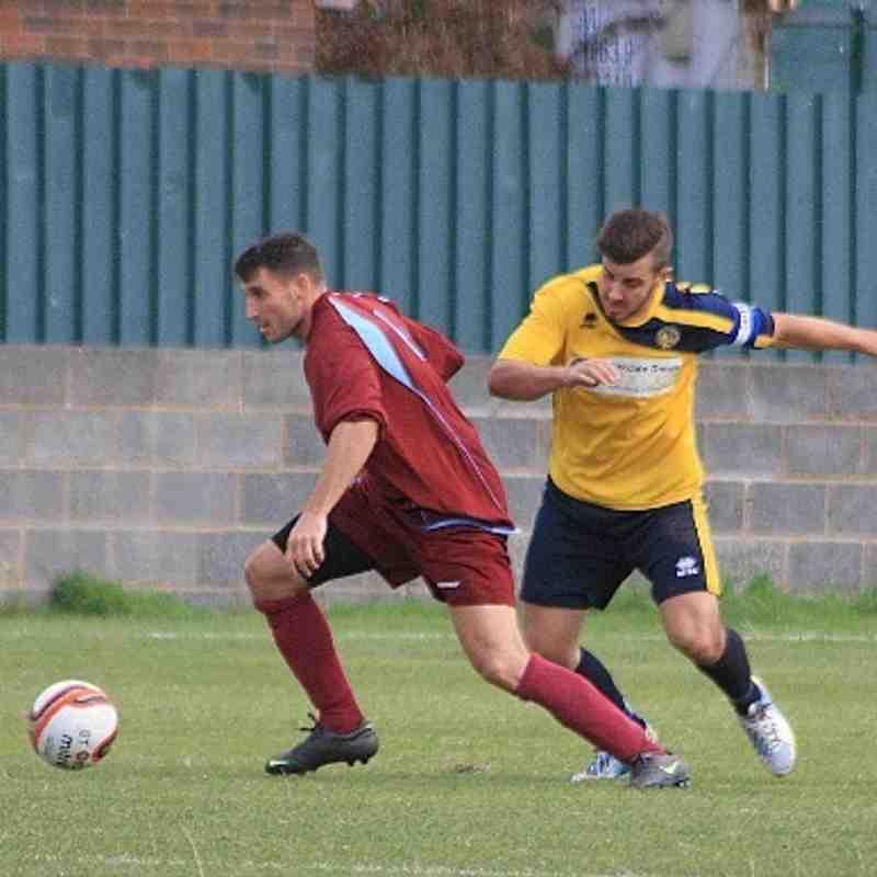 Bottesford Town v Ashton Athletic FA Vase 7/9/13