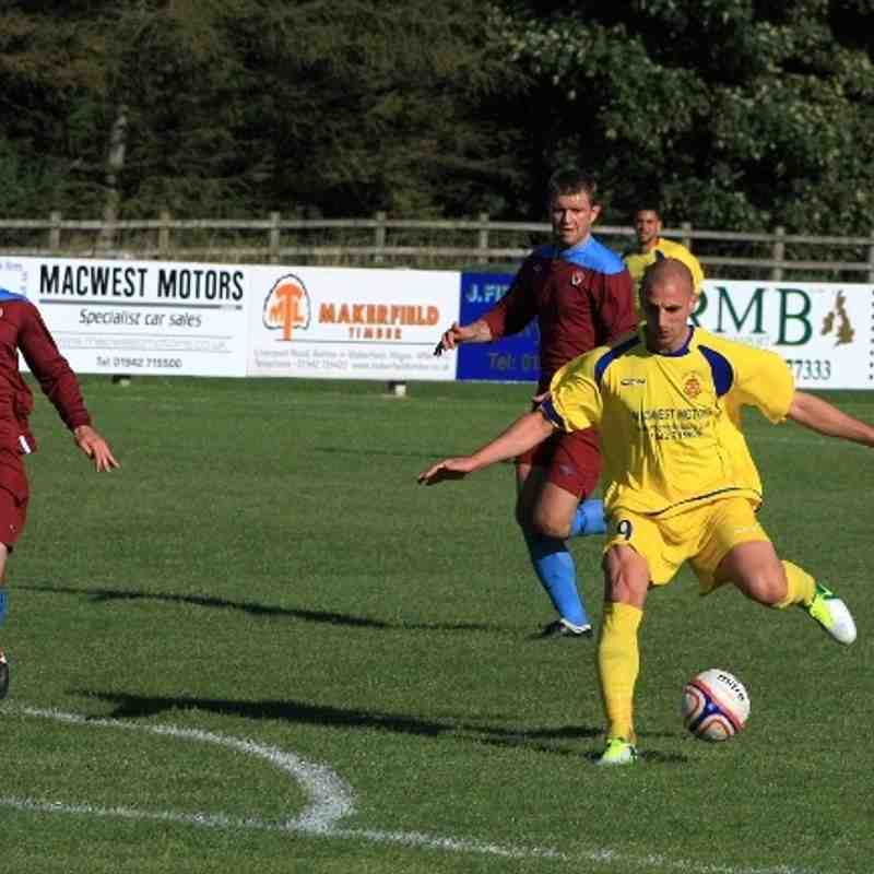 Ashton Athletic v Stockport Sports 14/9/13