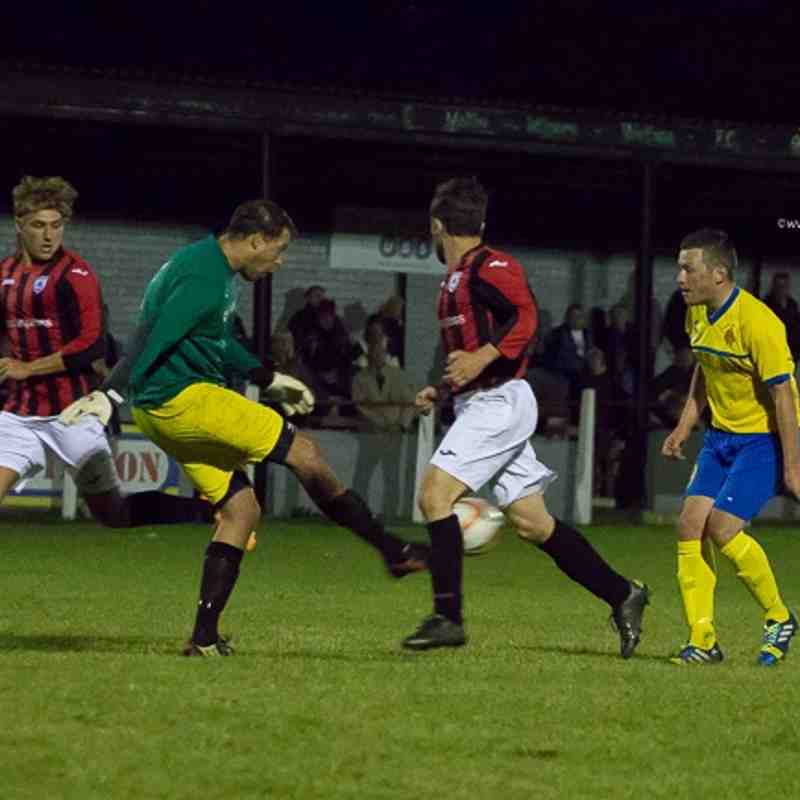 FA Cup - Maltby Main 3 Ashton Athletic 2 - 19/8/15