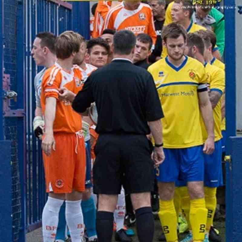 League - Ashton Athletic 0 AFC Blackpool 1 - 25/8/15