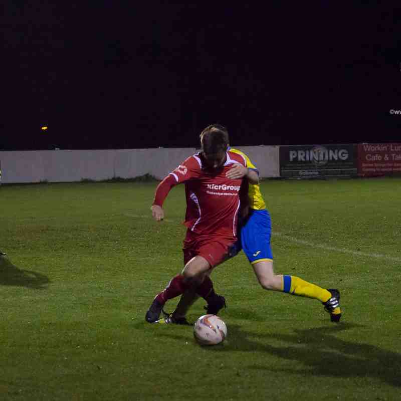 League - Ashton Athletic 1 Colne 3 - 20/10/15