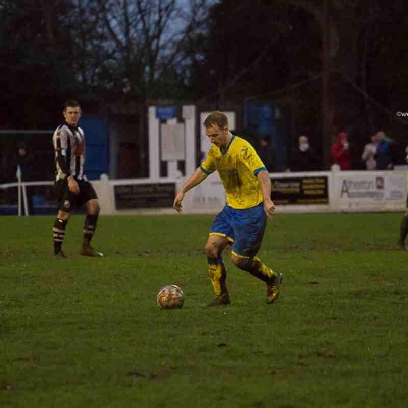 League - Atherton Collieries 1 Ashton Athletic 0 - 2/1/16
