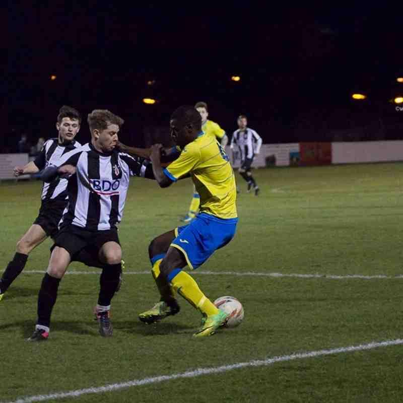 League - Ashton Athletic 1 Congleton Town 4 - 22/3/16