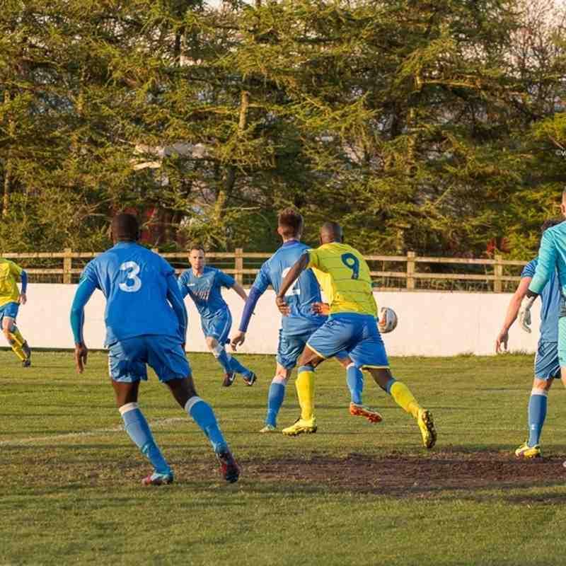 League - Ashton Athletic 2 Padiham 4