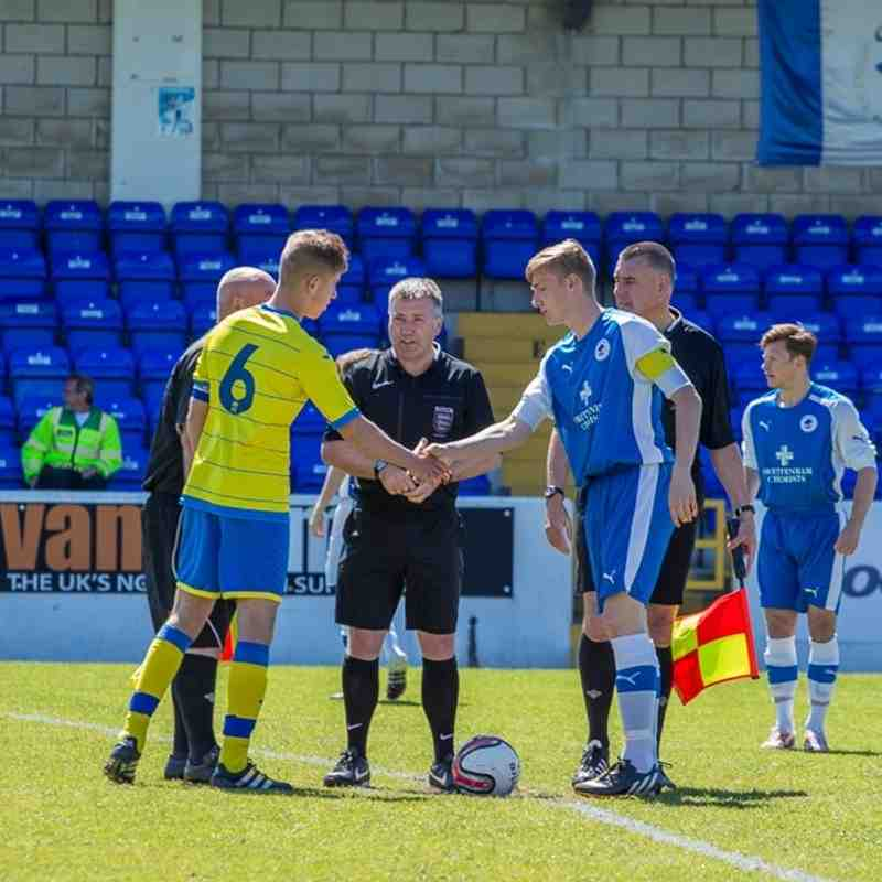 U18's NWYA Open Cup final - Chester FC 4 Ashton Athletic 1 - 15/5/16