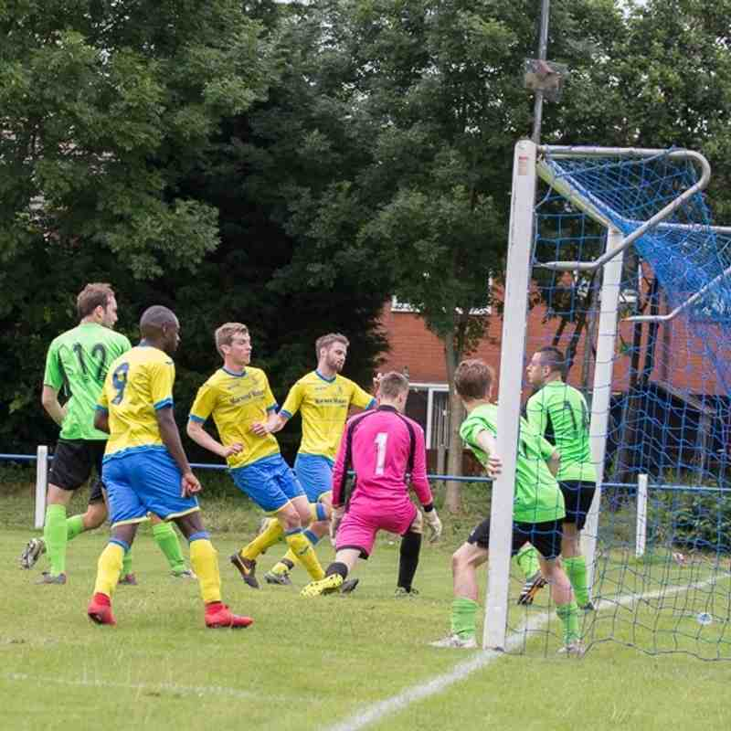 Pre-season - Coppull Utd 1 Ashton Athletic 3 - 16/7/16