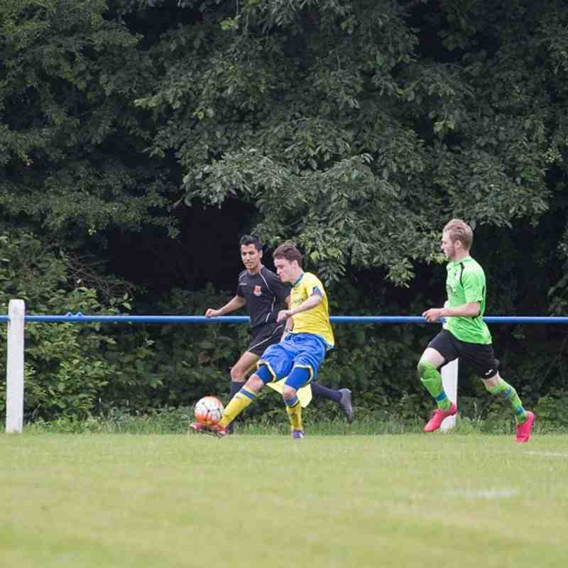 Pre-season - Coppull Utd 1 Ashton Athletic 3 - 16/7/16