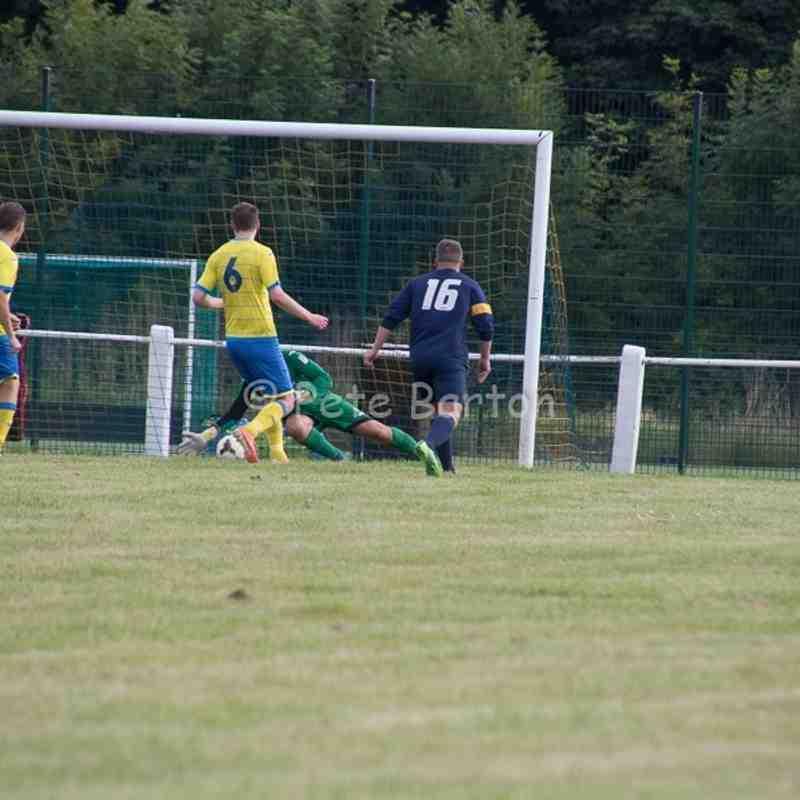 Preseason - Golborne Sports 1 Ashton Athletic 3 - 19/7/16